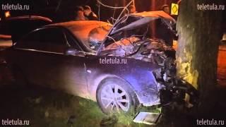 На ул. Болотова в Туле «семерка» протаранила Audi