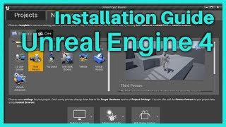 Unreal Tutorial - Game Development for Beginners - How to install the Unreal Editor