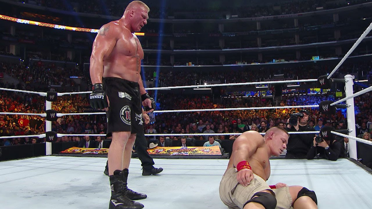 wwe network brock lesnar