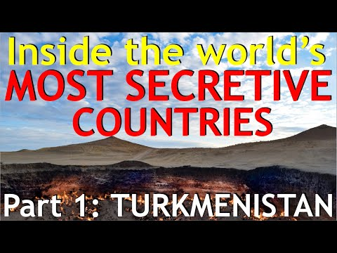 Inside the WORLD'S MOST SECRETIVE COUNTRIES (Part 1 - Turkmenistan)
