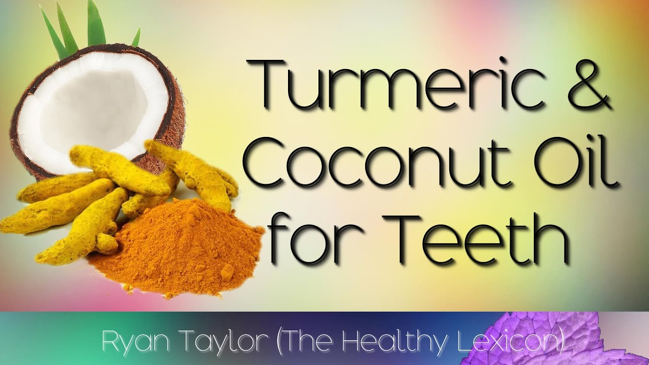 turmeric and coconut oil for teeth whitening youtube. Black Bedroom Furniture Sets. Home Design Ideas