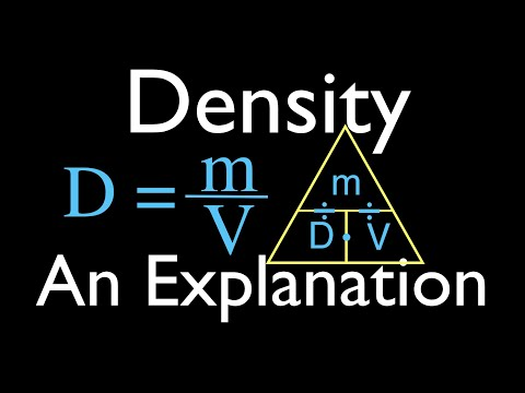 Density, An Explanation