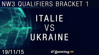 Italie vs Ukraine - NationWars III - Qualifiers Bracket 1 - Match 1