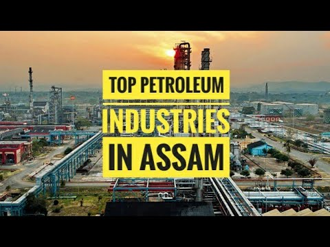Top Petroleum Industries in Assam 🏭