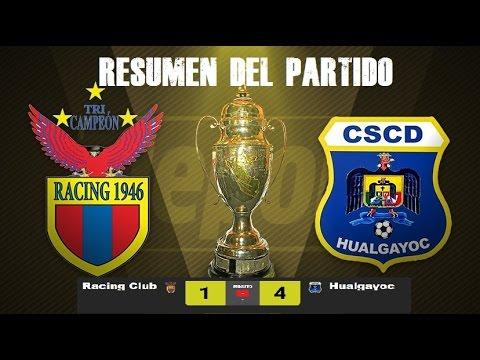 Racing Club 1 - 4 Deportivo Hualgayoc - Resumen