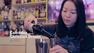 FLAIR IRON女調酒師👱🏻♀️三部曲 🇭🇰火焰調酒🔥靖