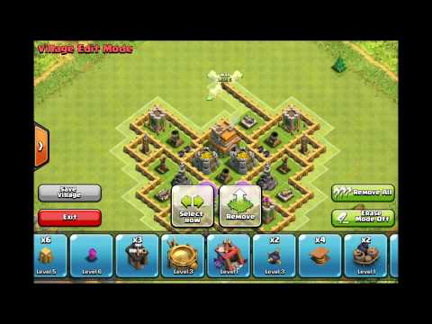 Town Hall Level 7 Base Defence (Clash Of Clans)