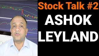 Ashok Leyland Technical Opinion - Stock Talk with Nitin Bhatia #2 (Hindi)