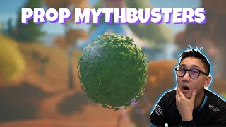 Fortnite Prop Mythbusters 😱😱😱