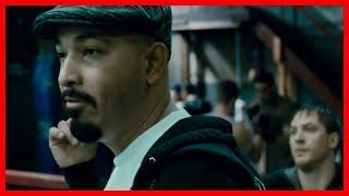 Воин  (2011) Томми избивает профессионального бойца «Бешеного пса»  Спарринг в зале