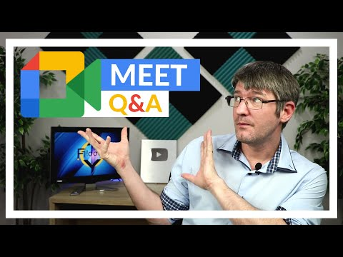 How to use Q&A in Google Meet