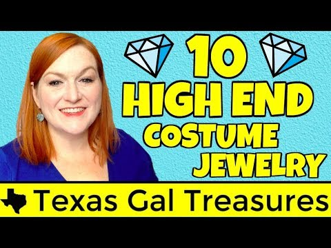 10 High End Costume Jewelry Brands You Need On Your Radar - Selling Jewelry On Ebay