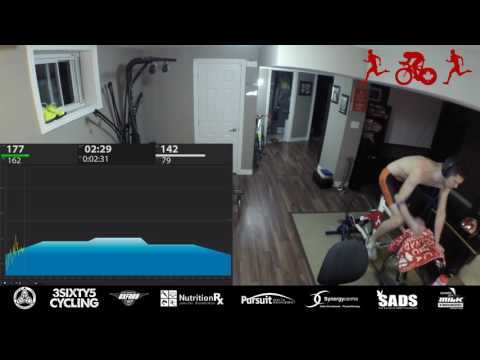 1:00:00 TrainerRoad + Run (BRICK)