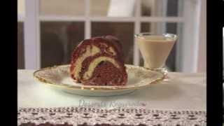 Www.dessertsrequired.com's Irish Cream Chocolate Swirl Bundt Cake
