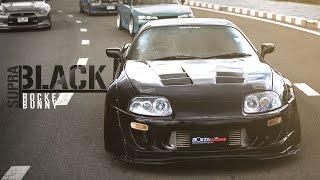 TOYOTA SUPRA BLACK ROCKET BUNNY By BoxzaRacing.com