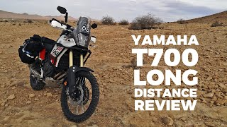 Yamaha Tenere T700 UK to Africa long distance review