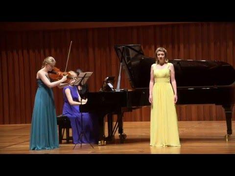 Amalie Trio: showcasing music for mezzo, viola & piano