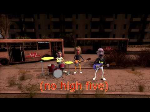 TTC - Freakuency Z - the animated karaoke version!