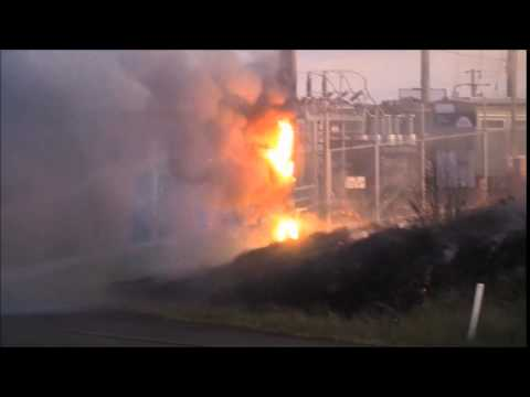This is why you don't put out an ELECTRICAL FIRE with WATER!!!