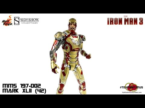 Video Review of the Hot Toys Iron Man 3: Mark XLII (42)