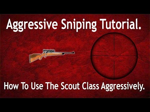 Battlefield 1: Aggressive Sniping Tutorial. How To Use The Sniper Class Aggressively.