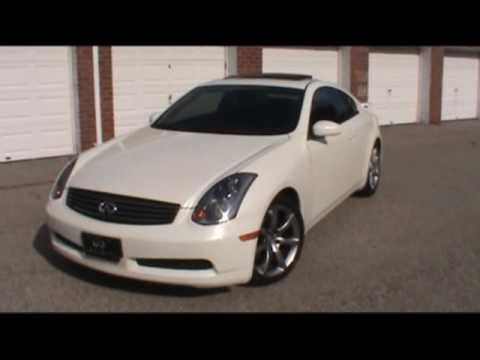 2004 Infiniti G35 Coupe Vehicle Overview Youtube