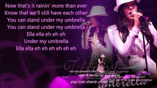Tiffany - Umbrella ( Lyrics on screen ; Studio Version ) 1080p HD