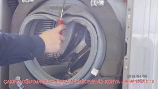 Çamaşır Makinesi Körük Kapak Lastiği Degişimi ( yırtık su kaçırıyorsa )- Sesli Bilgiler TR - Teknik