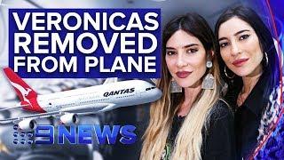 Pop duo threaten legal action against Qantas over baggage incident | Nine News Australia
