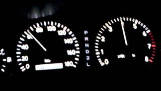 0-100 Toyota Cresta 1jz-ge vvt-i