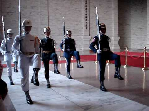 Change of Guard at Chang Kai Shek Memorial