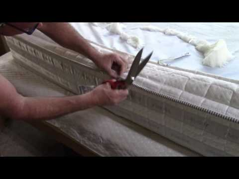 How To Diy Your Own Natural Mattress Doovi