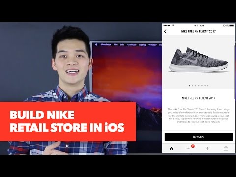 Build Nike Ecommerce Store - UIPageViewController, UIContainerView Tutorial - iOS Development