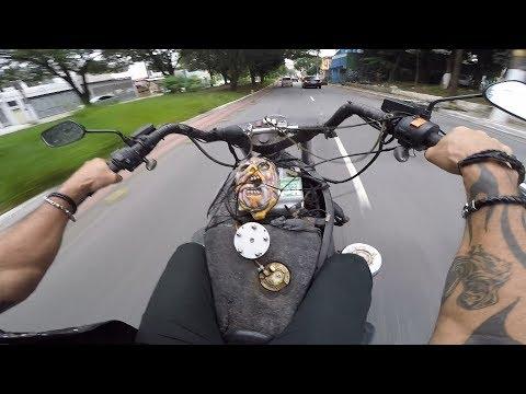 A GRANDE MOTO COM MOTOR DE FUSCA AMAZONAS 1983 COM ESTILO MAD MAX!!!