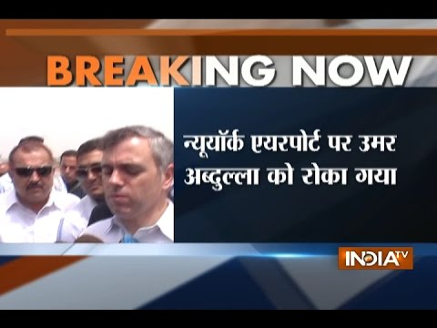 Omar Abdullah subjected to secondary immigration check in US