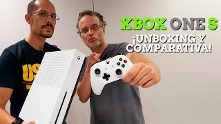 xbox one s unboxing y comparativa