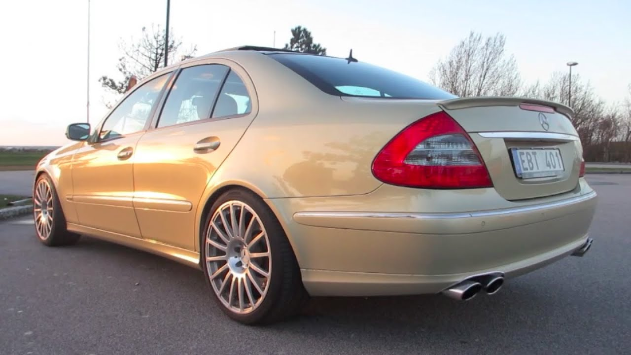 mercedes e 420 cdi tuned 414 hp 1005 nm exhaust sound youtube. Black Bedroom Furniture Sets. Home Design Ideas