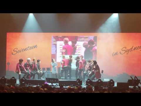 [Subs Esp] (Fancam) Seventeen in Sydney - Q&A segment