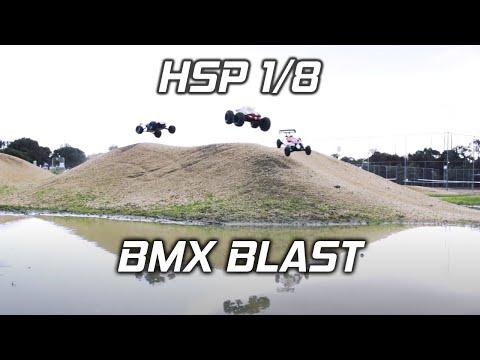 HSP Bazooka | Sea Rover | Tornado - 1/8 Brushless RC Trucks