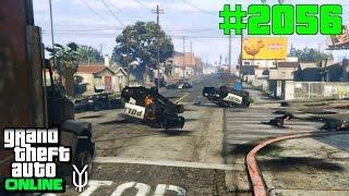 GTA 5 ONLINE RIP Grove Street tot in Sekunden #2056 Let`s Play GTA V Online PS4 2K