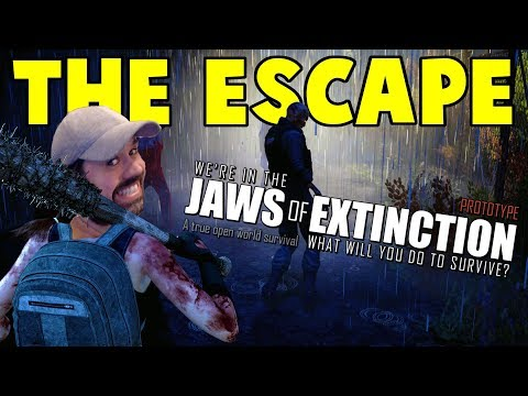 Upcoming Zombie Survival Game | Jaws Of Extinction Prototype Gameplay | E01