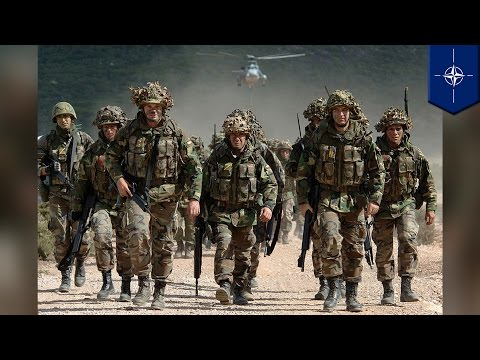 NATO v Russia: UK and US to deploy 1700 military staff in NATO force near Russian border - TomoNews