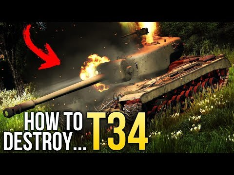 🔥 How to destroy T34 / War Thunder