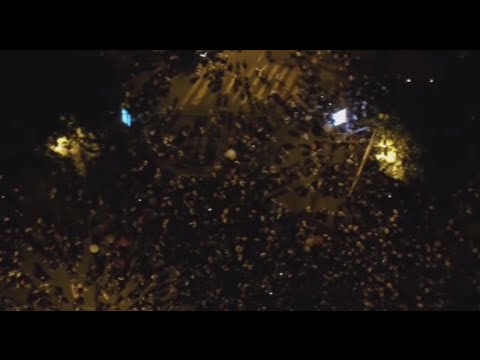 #ElectricYerevan: Drone captures massive protest in Armenian capital