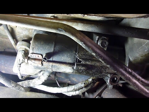 starter removal and install (short version) 98 GMC /Chevy