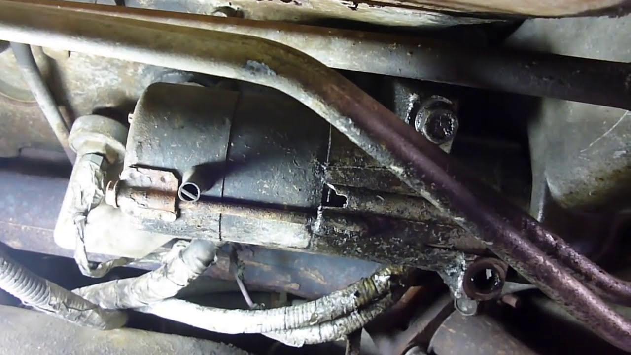 maxresdefault starter removal and install (short version) 98 gmc chevy youtube 98 GMC Sierra System at alyssarenee.co