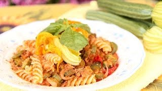 Nonna's Pasta With Zucchini & Tuna - Laura & Nonna - Laura In The Kitchen Episode