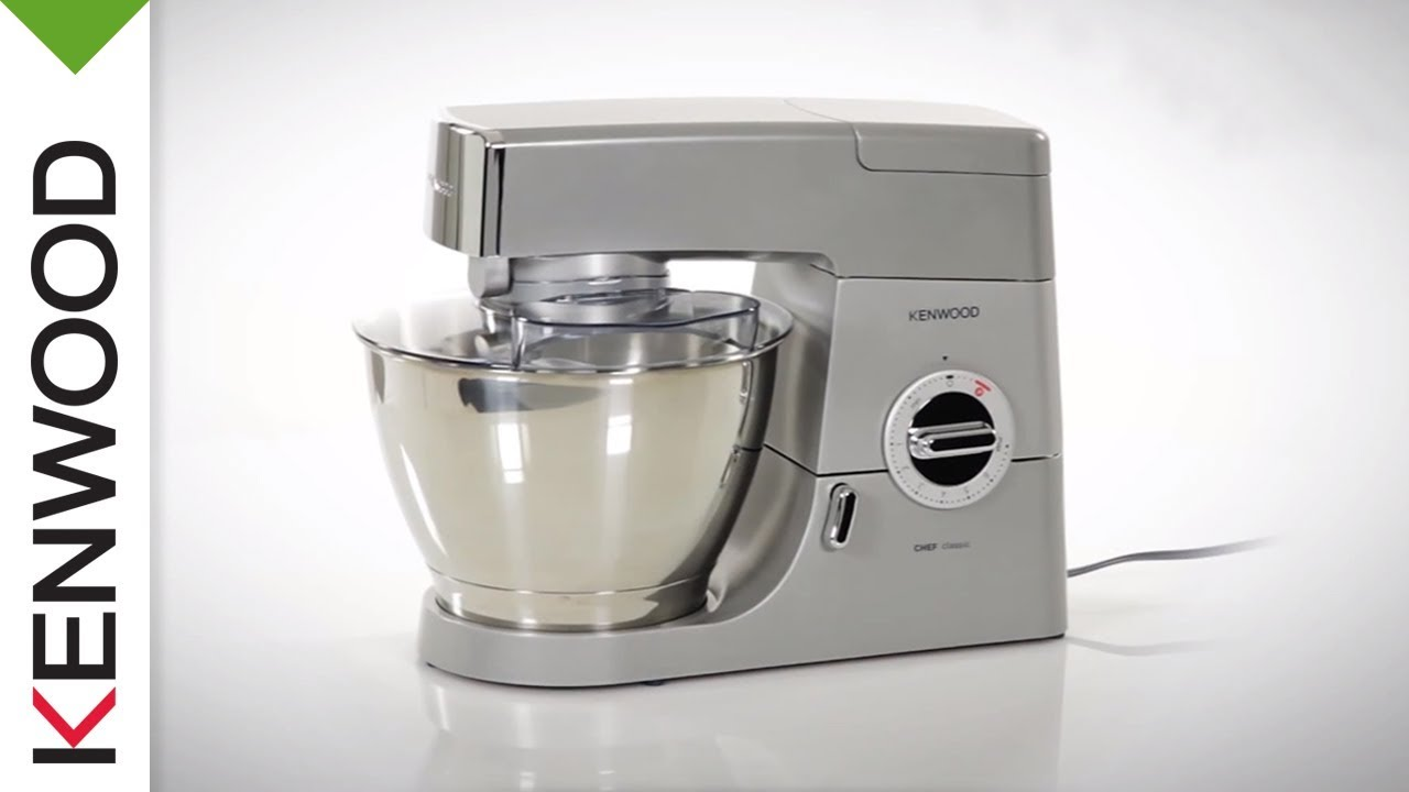 Kenwood Chef Classic (KM331) Kitchen Machine | Introduction - YouTube