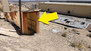 We Found A Secret Fallout Shelter In An Abandoned Ghost Town, Wait Until You See What We Found!