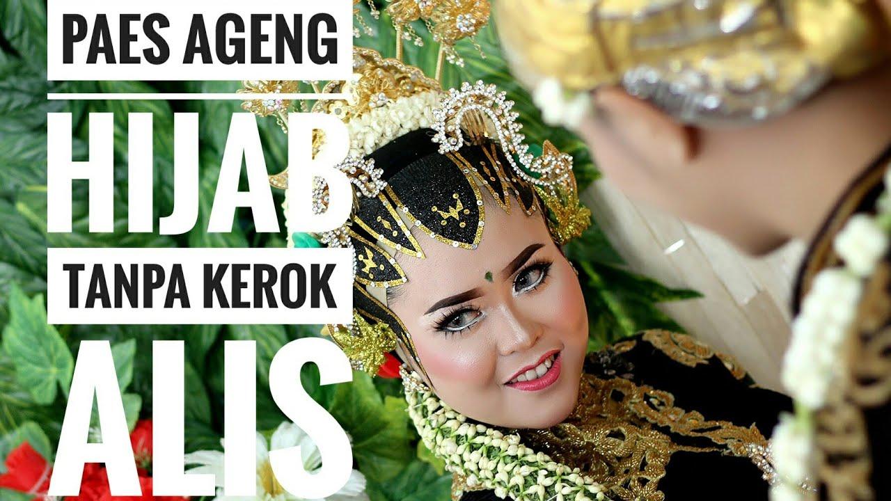 Rias Pengantin Jawa Paes Ageng Hijab Tanpa Kerok Alis